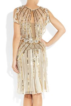 Temperley London|Web sequined tulle dress|NET-A-PORTER.COM