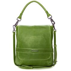 Matt and Nat vegan hobo/messenger bag; great color for spring