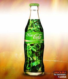 /via @HannesTschuertz bei Twitter #green #CocaCola #Coke #EssenTrinken