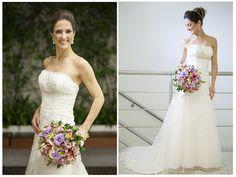 Noiva | Bride | Vestido | Dress | Vestido de noiva | Wedding dress | Bride's dress | Inesquecivel Casamento | Renda | Rendado | Vestido rendado | Véu | Véu de noiva | Grinalda | White dress | Vestido bordado | Bordado | Decote | Vestido branco | Tule | Tomara que caia |