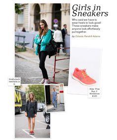 Girls in Sneakers
