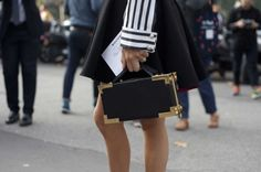 Street style details from Paris fashion week spring/summer '15 gallery - Vogue Australia