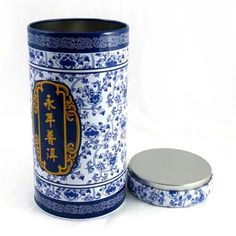 Chinese vase Tea packaging box/can/contianer