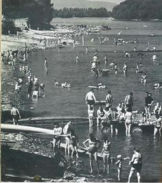 1970 körül. Római part.