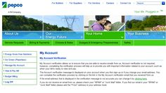 why you should verify your account (pepco)