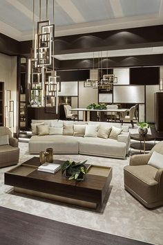 Symphony in beige Oasis living room