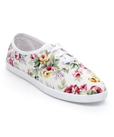 White Rose Sneaker | zulily