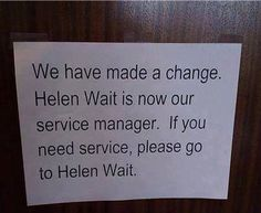 Service Manager has had it!