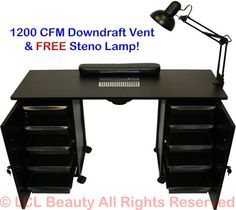 Manicure table with vacuum cleaner ESTETICA VEZZOSI: MARYLIN NAILS ...