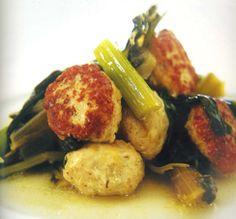 Janna Gur - Chicken Patties with Swiss Chard, Leeks and Celery