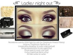 Ladies Night Out Created with Natural Mineral Makeup with Younique Products www.youniqueproducts.com/vancouver