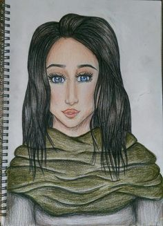 Amani Al'Hiza drawing - Rebel of the sands