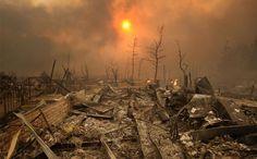 Post-apocalyptic wasteland