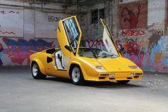 1983 Lamborghini Countach LP500S. Lease a Lamborghini with Premier Financial Services today. Photo via Classic Driver. #Lease #Lamborghini #SimpleLease