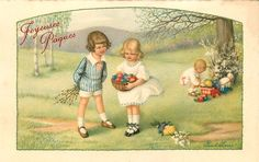 Pauli Ebner (1873-1949) — Old Easter Post Cards (960x605)