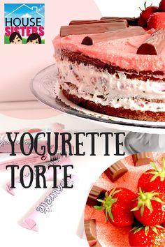 Housesisters - Rezept einfach und lecker! Yogurette Torte! Die perfekte Sommertorte! Mehr dazu auf www.housesisters.com