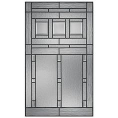 ODL Canada 687BKRD Grid Pattern Entry Door Glass Insert | *Lowe\'s ...
