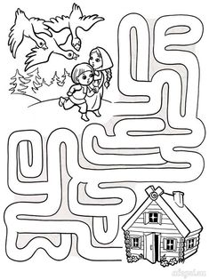 Puzzle Coloring Pages Mazes For Kids Printable, Fun Worksheets For Kids, Free Kindergarten Worksheets, Math For Kids, Preschool Worksheets, Lessons For Kids, Preschool Learning Activities, Preschool Activities, Teaching Kids