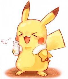 Mistakes are proof that you're trying. Pikachu Drawing, Pikachu Art, Cute Pikachu, Pichu Pokemon, Pokemon Fan, Cute Pokemon Wallpaper, Disney Wallpaper, Pokemon Images, Pokemon Pictures
