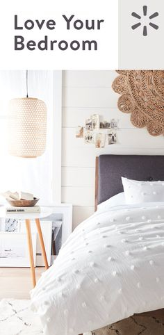If there's any room in your home that you need to be in love with, it's your bedroom. Walmart.com is here to help make sure you fall in love as you fall asleep, every night. Shop the selection at Walmart.com today.