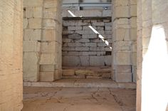 Temple of Apollon Epicouros, Vassae, the strange entrance on the east side East Side, Egypt, Entrance, Temple, Environment, Entryway, Door Entry, Temples