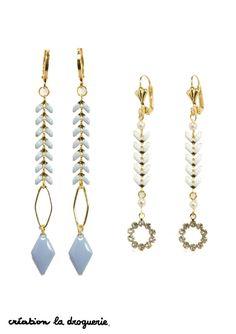 De jolies boucles d'oreilles pour faire ressortir votre bronzage !!!! #ladroguerie #bijoux #bo