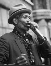 "Big Walter ""Shakey"" Horton is one of the all-time great blues harp (harmonica) players.  BORN: April 6, 1917, Horn Lake, MS DIED: December 8, 1981, Chicago, IL"