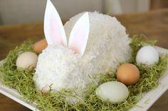 Пасхальный торт «Кролик». Мастер-класс   Домохозяйка