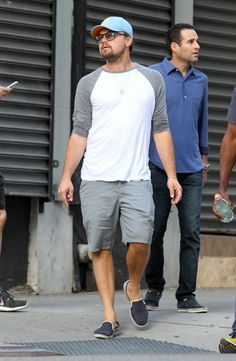 Pin for Later: Leonardo DiCaprio Pulls a Slew of Funny Faces While Out With Friends in NYC