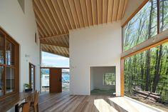 Kawashima Mayumi Architect Design, House for viewing mountains, Yamanashi, Giappone