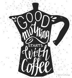 Good Morning Stars With Coffee By TashaNatasha