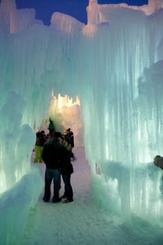 Ice Castle, Loon Mountain,  Lincoln,  NH