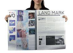 Landmark by MENOSUNOCEROUNO , via Behance Print Layout, Layout Design, Graphic Design, Prints, Editorial Design, Layouts, Behance, Studio, Print Design