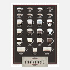 Exceptional Espresso print from Fab. I love it!