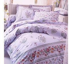 Romantická ložní souprava Katia zn. Colombine | vyprodej-slevy.cz #vyprodejslevy #vyprodejslecycz #vyprodejslevy_cz #home #povlečení Comforters, Blanket, Bed, Home, Blankets, House, Ad Home, Homes, Shag Rug