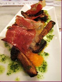 Shitake con Jamon at Barcino. Incredible Edibles, The Incredibles, Food, Essen, Meals, Yemek, Eten