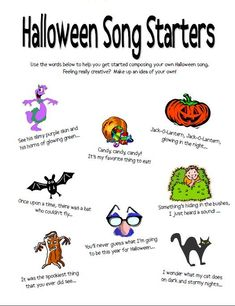 Look no further for your next Halloween themed lesson activity. These 10 FREE resources offer activities for rhythm, composing, practicing, staff reading, and more! Halloween Songs, Halloween Activities, Music Therapy Activities, General Music Classroom, Piano Teaching, Teaching Kids, Music Worksheets, Music Lessons, Piano Lessons