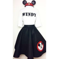 Mickey Mouse Club Custom Outfit by REALAndysEyeCandy on Etsy