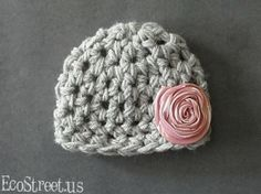 baby girl crochet hat...presh! by angel