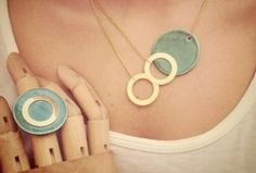 lovely ceramic jewelry