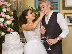 Bianca rumo ao altar | O casamento real | Revista iCasei