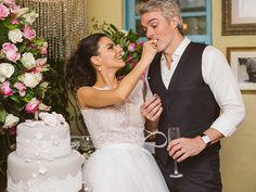 Bianca rumo ao altar   O casamento real   Revista iCasei