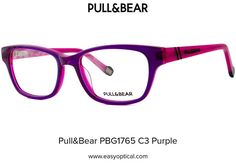 Pull&Bear PBG1765 C3 Purple Pull, Eyewear, Bear, Style, Swag, Eyeglasses, Bears, Sunglasses, Outfits
