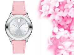 Khi sắc hồng nữ tính lên ngôi trong thiết kế đồng hồ