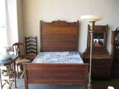 premium selection 969bd 9aa67 13 Best Highback beds images | Antique beds, Hope chest, Oak ...