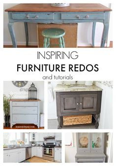 Inspiring Furniture Redos (Link Party Features)