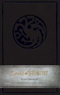 Game of Thrones Ruled Journal : House of Targaryen (9781608873708) | hive.co.uk