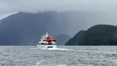 """Seabed mapping with the """"Silent Wings"""" in Fiordland New Zealand. Pacific 7 has a long history of carrying out such tasks in New Zealand and in the Pacific #workboat #research #marineresearch #seabed #seabedmapping #yacht #superyacht South Pacific, Pacific Ocean, Marine Engineering, Boat Restoration, Super Yachts, Boat Building, New Zealand, Wings, Map"""