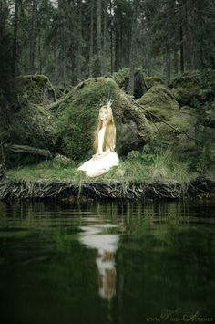 photo by Viona Art, inspired by the art of John Bauer