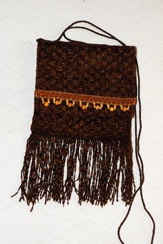 handwoven Chenille purse by Mimi, available for $40.00 at www.Etsy.com/shop/mimisfunstuff